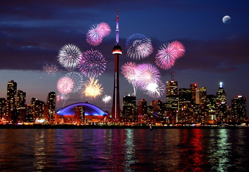 Toronto-Fireworks